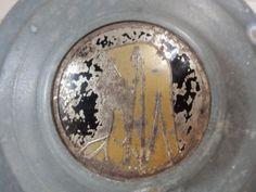 Art Deco Metal Vanity Powder BoxJewelry by MollyRoseBusch on Etsy, $16.00