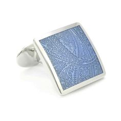 Check out the deal on Blue Paisley Cufflinks at Cufflinks Depot