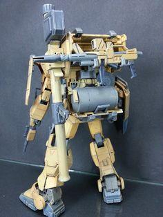 RX-79G[D] Ground Gundam Type D Planet System, Astray Red Frame, Ground Type, Gundam Exia, Strike Gundam, Gundam Custom Build, Robot Art, Robots, Warriors