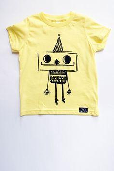 Robot t-shirt - Corby Tindersticks