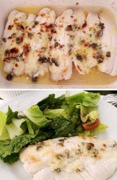 Filé de tilapia ao forno. | 10 receitas rápidas que vão te convencer a não pedir comida hoje