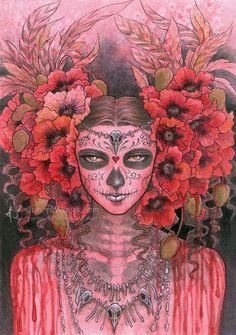 Bone Queen by aruarian-dancer.deviantart.com on @deviantART