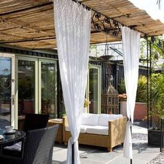 The wonderful people of Modernize reached out to me and wanted to share a DIY post with you all on how to make your own backyard canopy or sun shade! Things are already warming up here in Portland …