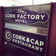 Cork Factory Hotel and Cork & Cap Restaurant #golancasterpa #lancasterpa #lodging #dining #lancastercity