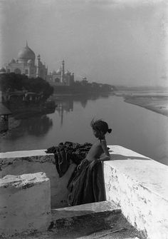Georges Gasté: Agra, India, 1906.