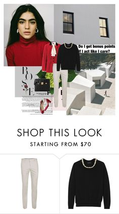 """""""1061. Posh"""" by dreamingofamelia ❤ liked on Polyvore featuring Valentino, Simone Rocha and Love Moschino"""