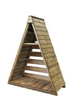 Pinnacle Log Store | Forest Garden