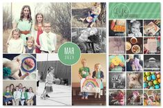 simple as that: Recording Memories one Photo Collage at a Time Printable frames