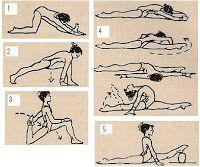 stretches for splits!