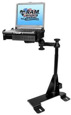 RAM-VB-119-SW1 Ram Mounts No-Drill Laptop Mount for Ford Econoline Van $241.99 #RamMounts
