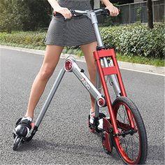 New brand Second generation 3 Wheel Skating bike mantis car creative bicicleta adult damping scooter folding bicycle Buy Bicycle, Folding Bicycle, Velo Design, Bicycle Design, Scooters, Simson Duo, Velo Retro, 3rd Wheel, Cool Stuff