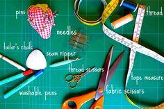 Learning to sew basics