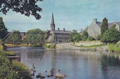 6. The Oldgate bridge before it was demolished in the 1970s. Provided by Morpeth Town Councillor David E. Clark