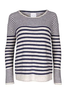 Womens Meant To Bee Stripe Jumper | Mistral