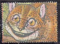 1990 GB Greetings Stamps Cheshire Cat - Fine Used SG1486 on eBid United Kingdom