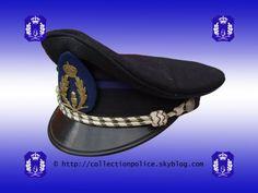 Képi pour inspecteur, inspecteur principal et inspecteur principal de 1ere classe de la Police Rurale de la province de namur. © Le texte et la photo sont protégés par un copyright. ---------------...