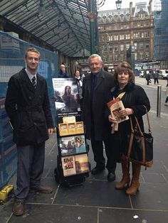 Glasgow, Scotland - Delighted to see our brothers public witnessing in all parts of the earth, united in love. #literature_cart