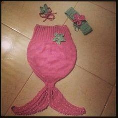 Sereia Newborn em Crochê 👼👶👏👏👏💗👑 🐋🐳🐬🐟 #crochet #newborn #sereia #bebê #fantasia #euquefiz