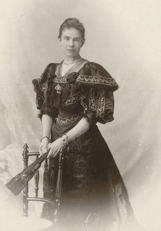 Gisela, Duchess in Bavaria, Archduchess of Austria. Mids 1890s.