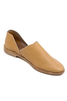 """Combining artisan techniques and modern styling, these leather slip-ons from Osborn are an effortless match for both dressed up and dressed down looks. Dimensions: Heel height measures 3/8"""". Details:"""
