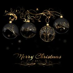 2015 christmas black background with glass baubles vector 04 glass christmas black background baubles background 2015 Black Christmas, Noel Christmas, Merry Christmas And Happy New Year, Christmas Images, Christmas Wishes, Christmas Greetings, Christmas Bulbs, Vector Christmas, Xmas