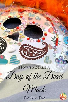 Day of the Dead Mask Pin