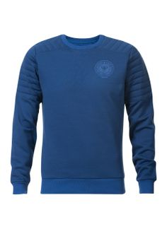 Trui blauw, slim fit model