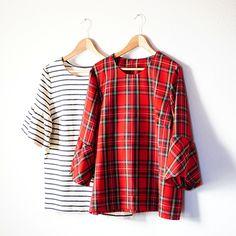 Knipmode 11/2016 #11, Shirt mit Glockenärmel