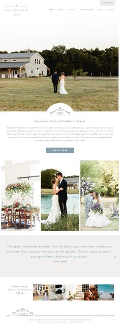 brand identity, logo design, badge, brand design, brand design for wedding venue, feminine brand design, Neutral Color Palette | The Establishment Barn: by Doodle Dog
