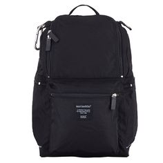 Your new best friend: A clean, comfortable classic. Marimekko Buddy Black Backpack - $159