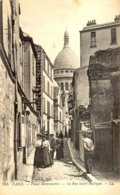 MONTMARTRE SECOND EMPIRE - Sous les Toits de Paris