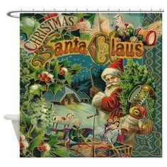 Christmas Santa Claus Antique Vintage Victorian Sh on CafePress.com