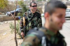 Assyrian Christian fighters against Islamic State