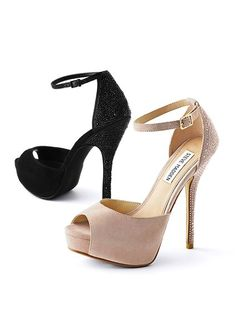 VS Steve Madden Peep-toe Pump.....now if only I: 1) had some where to wear these, and 2) could afford them.
