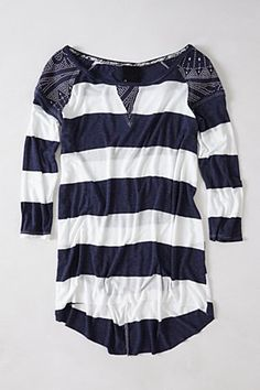 Patched Rugby Pullover | Anthropologie.eu