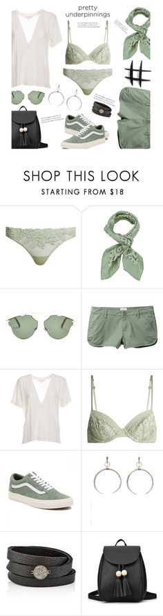 """""""There she goes Out in the sunshine'"""" by dianefantasy ❤ liked on Polyvore featuring La Perla, Manipuri, Christian Dior, RVCA, IRO, Vans, Luv Aj, Feathered Soul, polyvorecommunity and polyvoreeditorial"""