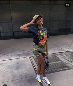 Teenager Outfits, Girl Outfits, Fashion Outfits, Cute Fashion, Fashion Ideas, Black Girls Hairstyles, Everyday Outfits, Baddies, Summer Outfits