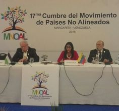 @DrodriguezVen : RT @vencancilleria: #AHORA   Canciller de Ecuador @GuillaumeLong: La XVII Cumbre #MNOALVzla2016 es un espacio para estrechar lazos entre países hermanos.