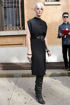 Fashion Editor Kate Lanphear is so cool and dresses so well I can't stand it!