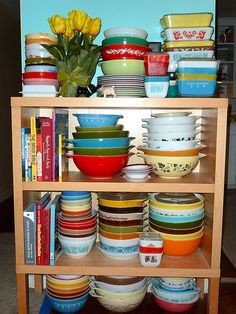 What's Not in the Hutch...  More Pyrex