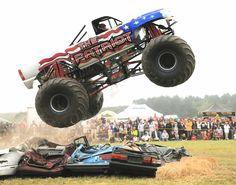 Patriot monster truck power!