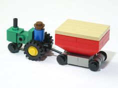 Tractor (by Jason Alleman) #LEGO