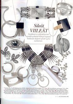 Elle Accessories | Sileät viileät | Carina Blomqvist #carinablomqvist #jewelry