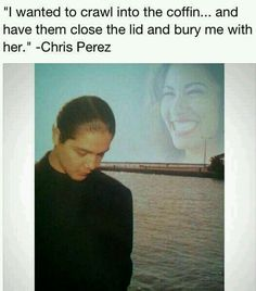 The worst kind of pain is losing someone prematurely and permanently Selena Quintanilla Perez, Selena Gomez, Selena And Chris Perez, Divas, Jackson, Relationship Goals, Relationships, Powerful Women, Feelings