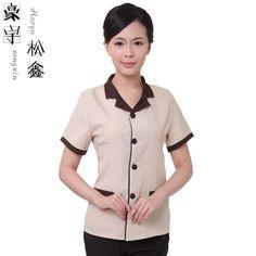 15 New ideas cleaning service uniform Housekeeping Uniform, Hotel Uniform, Kurta Neck Design, Uniform Design, Buying Wholesale, Work Wear, Summer Outfits, Kebaya Brokat, Bespoke