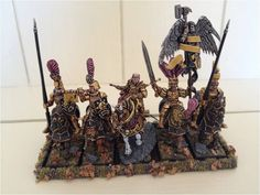The Internet's largest gallery of painted miniatures, with a large repository of how-to articles on miniature painting Warhammer Empire, Warhammer Fantasy, Figurines Warhammer, Knights, Minis, Diy And Crafts, Modeling, Hobbies, Gaming
