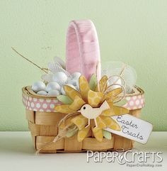 Easter Treats Basket by @Lucy Kemp Kemp Abrams - Moxie Fab World
