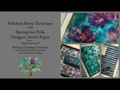 Polished Stone with Springtime Foils DSP - YouTube