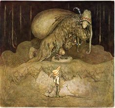 John Bauer. This is how Swedish trolls look like.