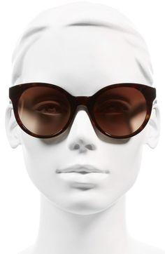Main Image - Tory Burch 'Stacked' 54mm Retro Sunglasses
